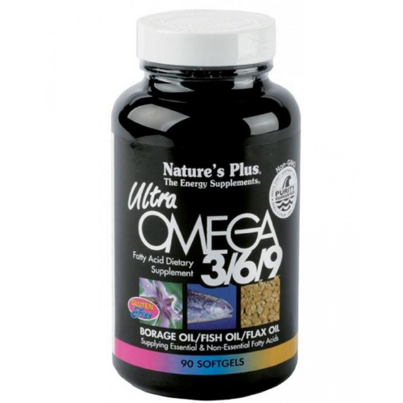 Ultra omega 3-6-9 90 perles