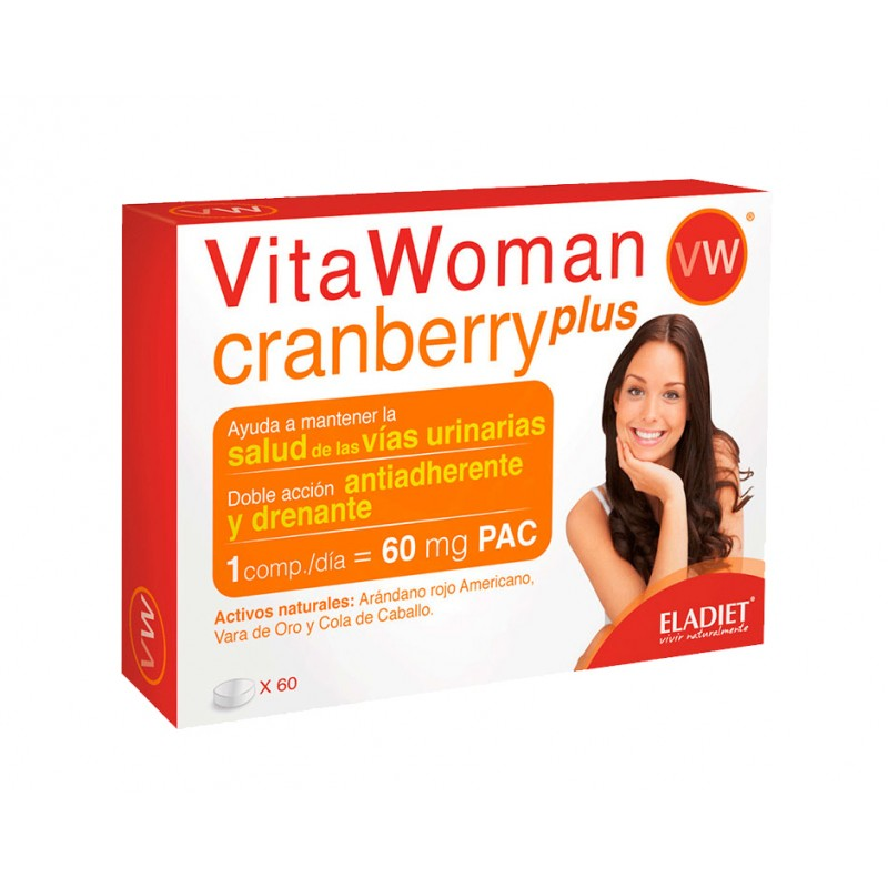 VitaWoman Cranberry Plus 60 comprimits