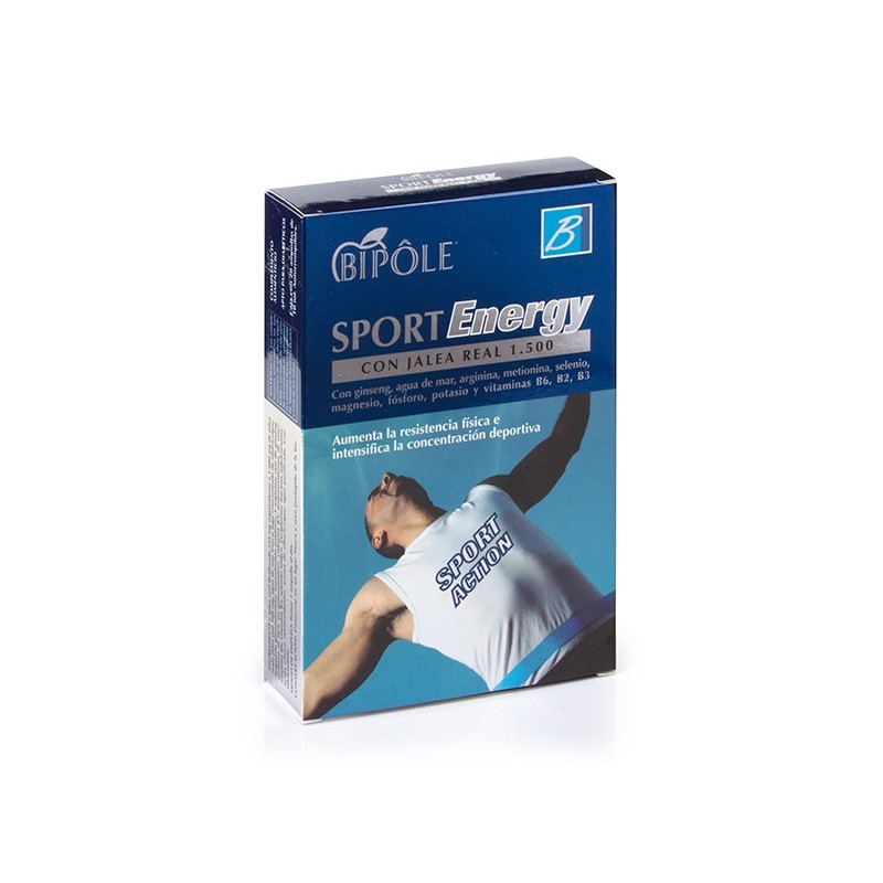 Sport Energy 20 ampolles