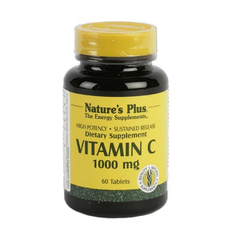 Vitamina C 1000 mg 60 comprimits