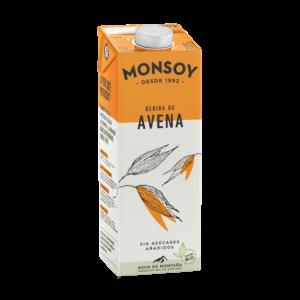Bebida de Avena Bio Caja 6u. – Monsoy