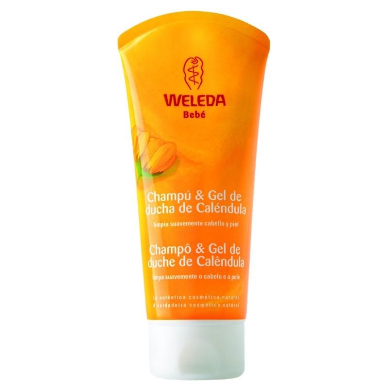 Xampú i Gel de Dutxa Calèndula 200 ml