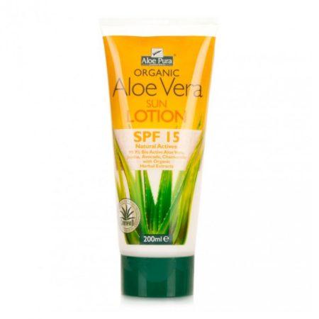 Crema Solar Aloe Vera SPF 15