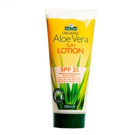 Crema Solar Aloe Vera SPF 25