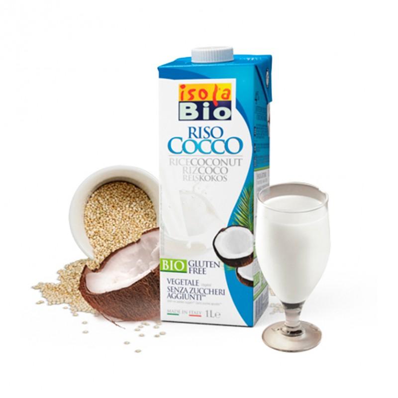 Beguda d'Arròs i Coco Bio
