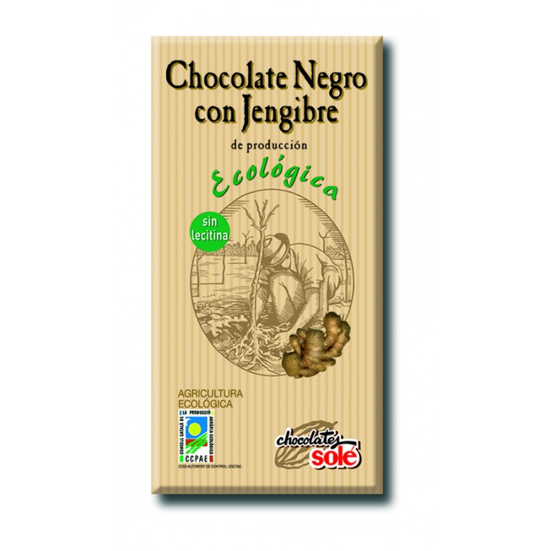 Xocolata Negra Gingebre Eco