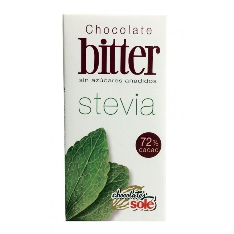 Xocolata Negra 72% Bitter Stevia