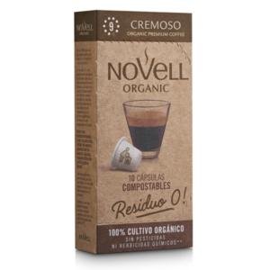 Cafè Cremoso Càpsules Compostables – Novell