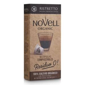 Cafè Ristretto Càpsules Compostables – Novell